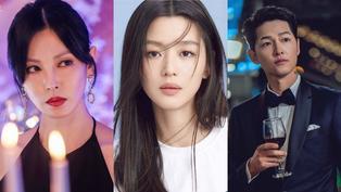 2021韓國演員熱搜排行TOP10!玄彬沒進榜、孫藝珍只有第十,冠軍是全網震撼的恐怖情人!