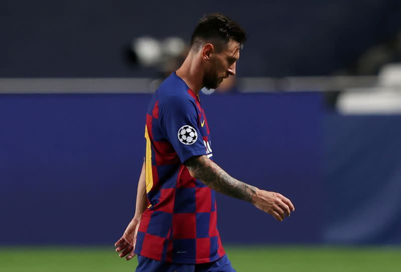 Messi tells Barca he wishes to leave - club source
