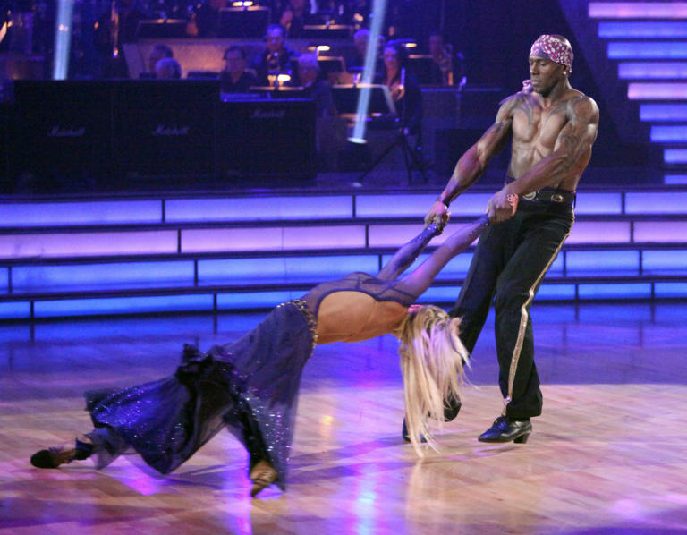 Peta Murgatroyd and Donald Driver (4/09/12)