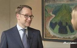 Want for ECB to be less accomodative than it is: Bundesba...