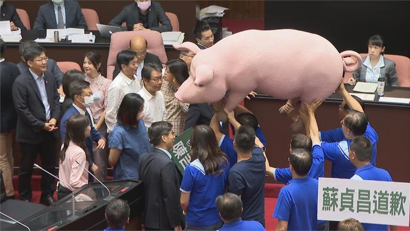 含瘦肉精美豬開放政策,你覺得需不需要到立法院審查?