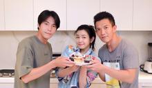 陳妍希七夕變萬聖 做蛋糕送「小情人」