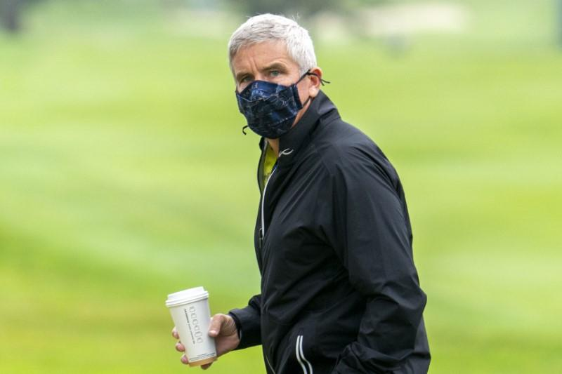 Fans will return to PGA Tour events when it's safe, says Monahan
