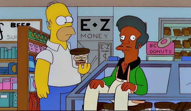 Apu in The Simpsons (Credit: Fox)