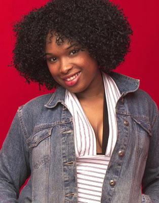 "Jennifer Hudson is one of the contestants on Season 3 of ""American Idol."""