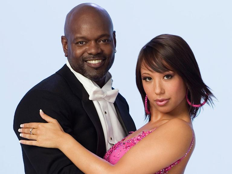 Emmitt Smith & Cheryl Burke