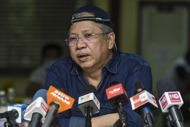 Tan Sri Annuar Musa said last night that Bersatu can contest 'as many seats it wants' but must concede the seats to the 'stronger party' in straight fights against Warisan. — Picture by Miera Zulyana