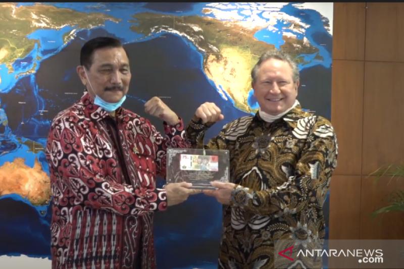 Pandemi telah dorong reformasi Indonesia, kata Luhut