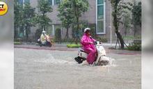 北市遭雨彈轟炸多處淹水 議員PO照怒斥:人為因素佔很大成分!
