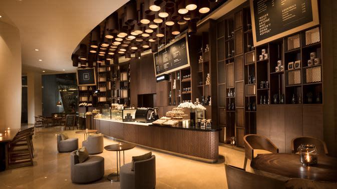 The Koffee di area lobi DoubleTree by Hilton Jakarta - Diponegoro. (dok. DoubleTree by Hilton Jakarta - Diponegoro)