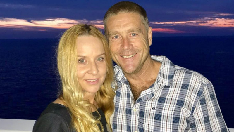 Christine and Troy Thornton. The family has welcomed the change to Victoria's euthanasia laws.
