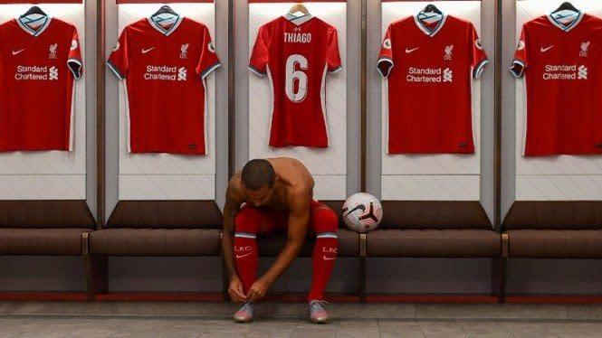 Sebelum Gabung ke Liverpool, Thiago Ternyata Bikin Barca Gigit Jari