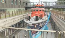 曾救海燒船.查獲私菸 搜救艇「海上不倒翁」將除役