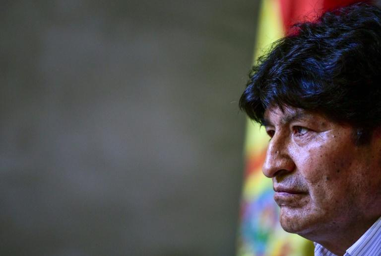 Bolivia contacts ICC over ex-president Morales 'crimes'