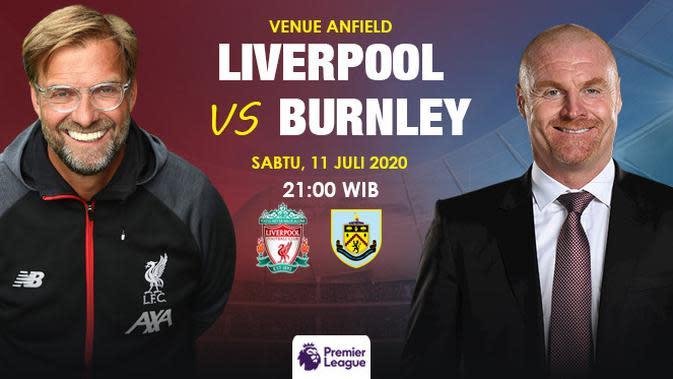 Liverpool vs Burnley (Liputan6.com / Triyasni)