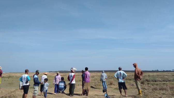 Pemkab Blora masih pikir-pikir untuk mengembangkan situs geologi Kesongo sebagai destinasi wisata. (Foto: Liputan6.com/Ahmad Adirin)
