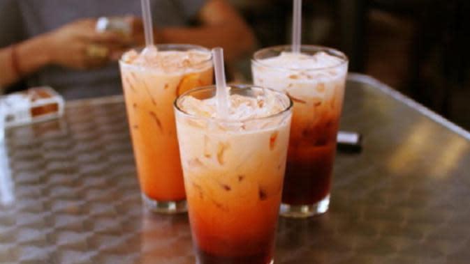 Thai tea (Sumber Foto: minutespost.com)