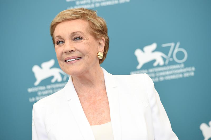 VENICE, ITALY - SEPTEMBER 03: Dame Julie Andrews attends the Golden Lion for Lifetime Achievement photocall during the 76th Venice Film Festival on September 03, 2019 in Venice, Italy. (Photo by Stefania D'Alessandro/WireImage,)