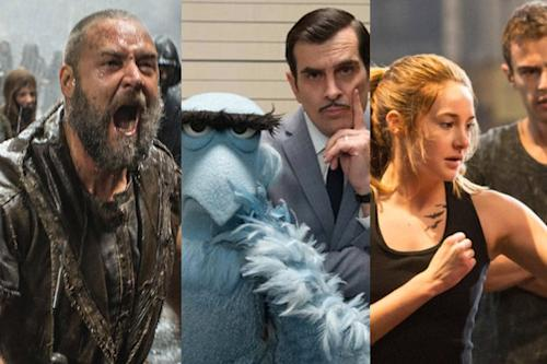 15 Movies We're Dying to See This Spring, From 'Noah' to 'Divergent'