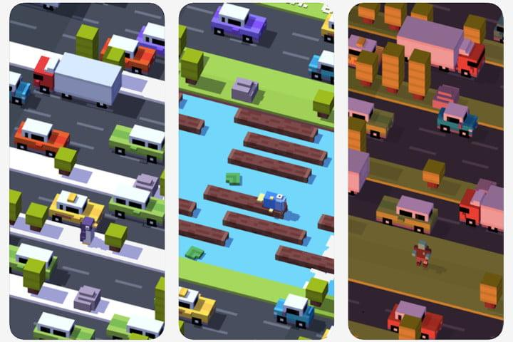 Crossy Road free kids game for Android and iPhone