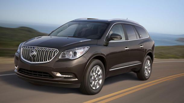 2013 Buick Enclave shines a fresh light on its competition