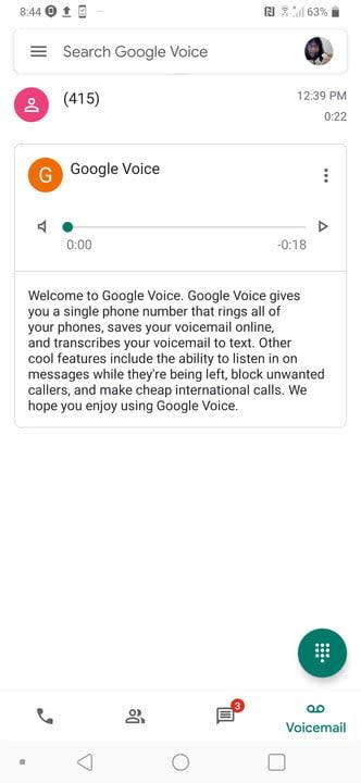 how to set up google voice gva12