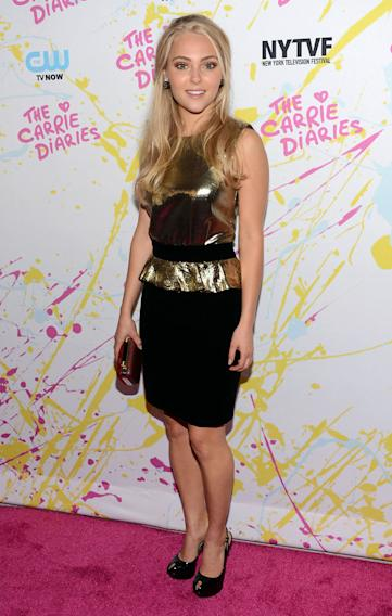 """""""The Carrie Diaries"""" Premiere - Opening Night - 2012 New York Television Festival"""