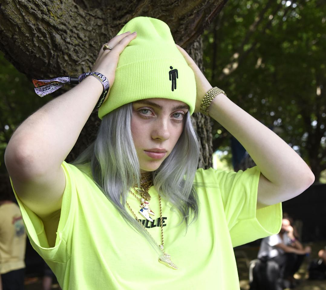 """<p>Billie Eilish is famous for her <a href=""""https://www.seventeen.com/fashion/celeb-fashion/a28451442/billie-eilish-freak-city-clothing-collection/"""" target=""""_blank"""">90s'-reminiscent, streetwear-inspired style</a>, but it's really her hair that deserves the glory. From neon mullets to dusty pastel hues, Billie has proven time and again than she can effortlessly pull off any hair color – and she's not afraid to either. </p><p>Billie is ALWAYS switching it up – her latest look almost broke the internet. When she dyed her roots slime green, it propted a Twitter-wide debate about <a href=""""https://www.seventeen.com/beauty/hair/a28277717/billie-eilish-dyed-her-roots-neon-green/"""" target=""""_blank"""">whether she was inspired by <em>Jojo's Bizarre Adventure</em></a>. No matter what her color, the singer has an uncanny ability to pull off even the wildest styles. Here's a look back at some of Billie's most iconic hair colors. </p>"""
