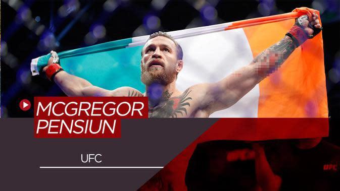 VIDEO: Bintang UFC, Conor McGregor Umumkan Dirinya Pensiun