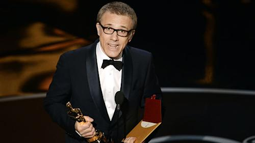That's a bingo again! Christoph Waltz wins another Oscar for another Tarantino performance