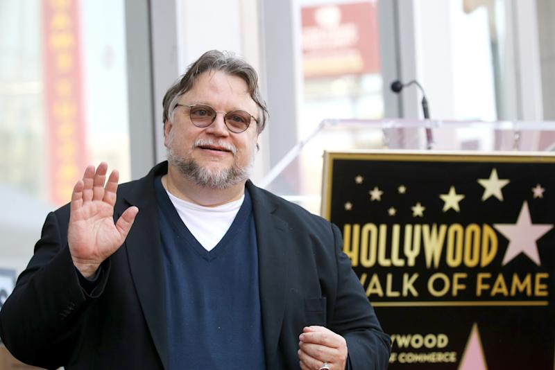 Guillermo del Toro attends the ceremony honouring him with a Star on The Hollywood Walk of Fame held on August 06, 2019. (Photo by Michael Tran/FilmMagic)