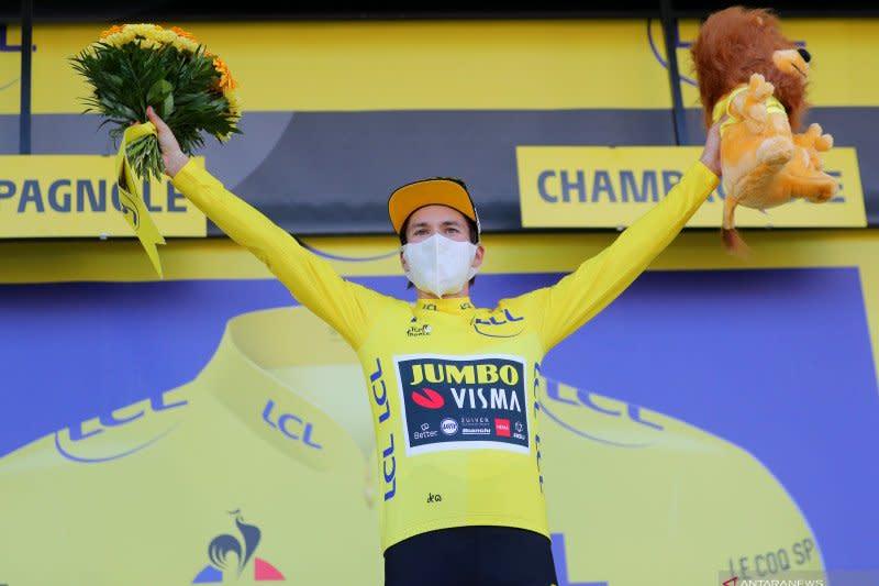 Klasemen sementara Tour de France setelah etape ke-19