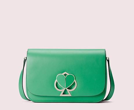 Nicola Twistlock Medium Shoulder Bag. Image via Kate Spade.