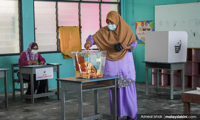 Slim polls: 60 pct turnout at 3pm