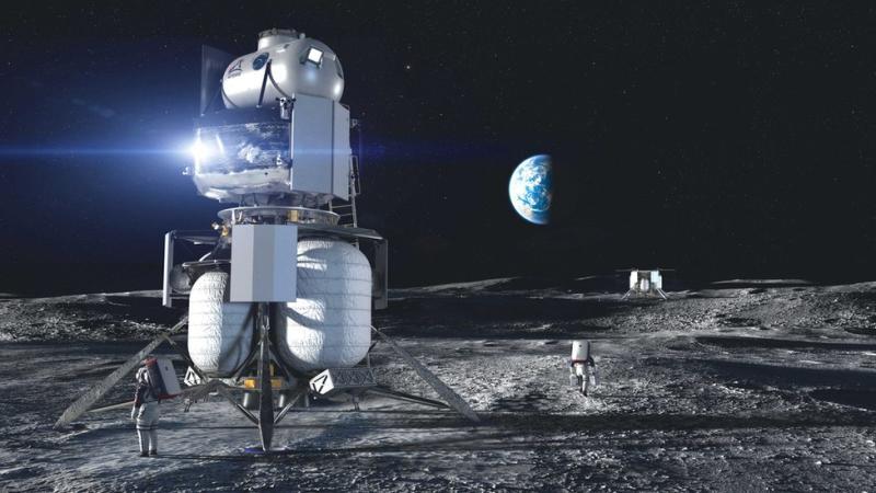Blue Origin lander