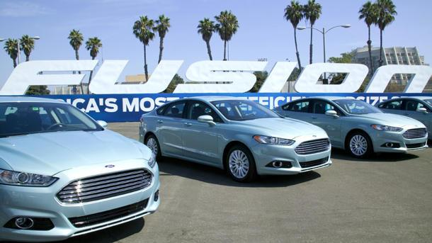 2013 Ford Fusion, aiming for the top: Motoramic Drives