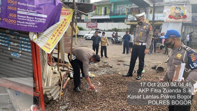 Kesaksian Warga Saat Kecelakaan Maut Terjadi di Puncak Bogor
