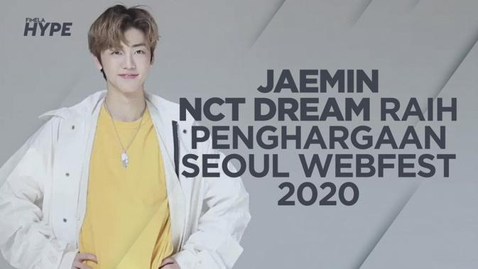 Jaemin NCT Dream Menangkan Penghargaan Seoul Webfest Awards 2020