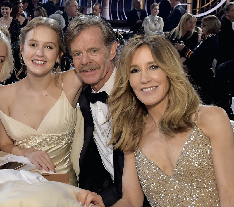 Sophia Macy, with her parents William H. Macy and Felicity Huffman, has been cast in the second season of Twilight Zone. (Photo: Getty Images)