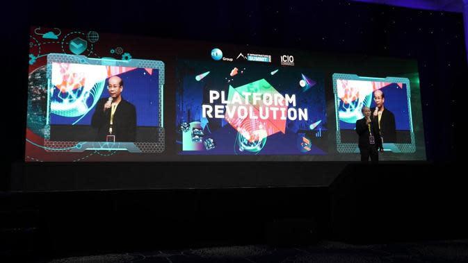 CTI IT Infrastructure Summit 2020 mengupas lebih dalam tentang manfaat dan tantangan dari teknologi platform dan bagaimana pelaku bisnisdi Indonesia bisa turut mengadopsinya. Kredit: CTI