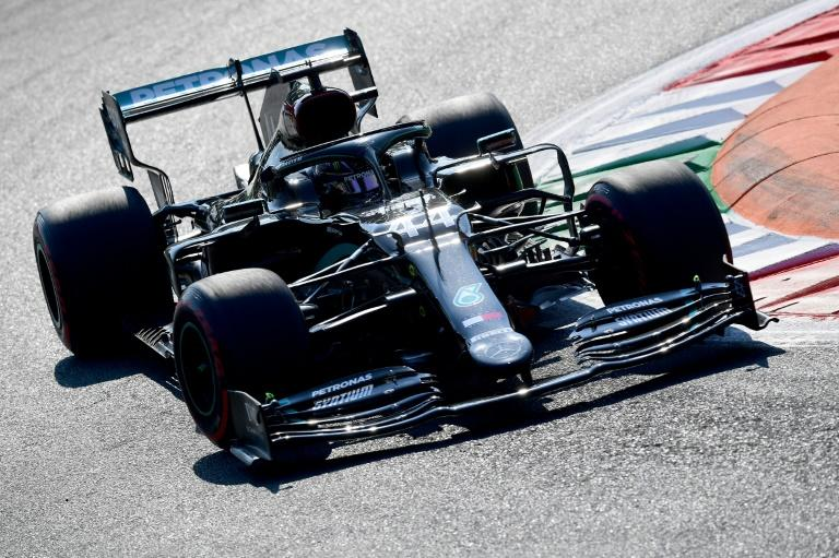 Hamilton back on top as Mercedes dominate second practice