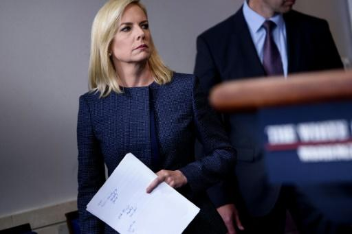"""US Secretary of Homeland Security Kirstjen Nielsen has become the public face of the """"zero tolerance"""" policy that led to family separations at the border"""