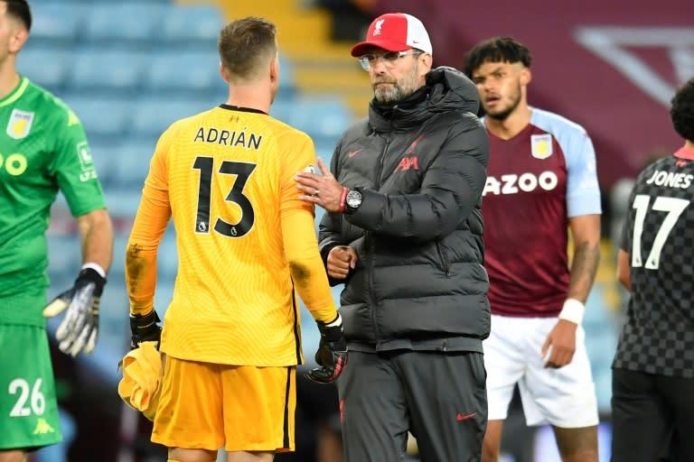 Klopp reveals text to Liverpool flops after Villa thrashing