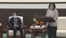 接見索馬利蘭代表 總統讚「非洲民主模範生」