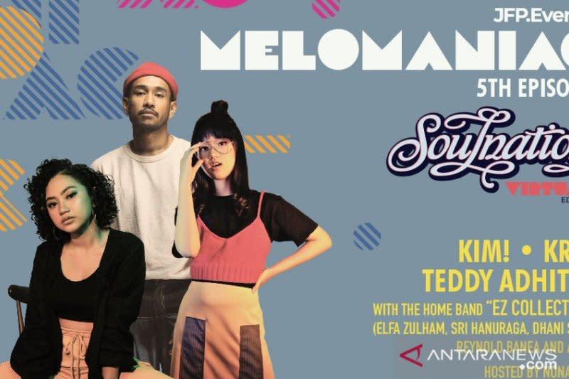 "KIM!, KRLY, Teddy Adhitya meriahkan ""Melomaniac 5th Episode"""