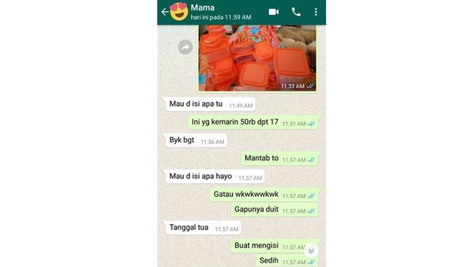 6 Chat Ibu Enggak Peka ke Anak Ini Bikin Geregetan (sumber: Twitter.com/fullsunattack)