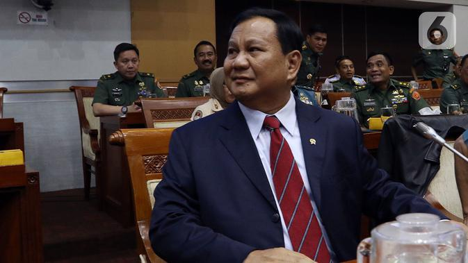 Prabowo Bicara soal Tudingan Tak Lantang Lagi hingga Hoaks RUU Cipta Kerja