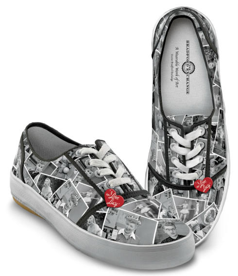 """I Love Lucy"" Sneakers"
