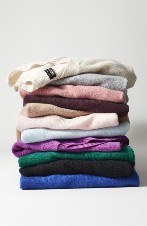 Halogen Cashmere Turtleneck Sweater on sale for $49. Image via Nordstrom.