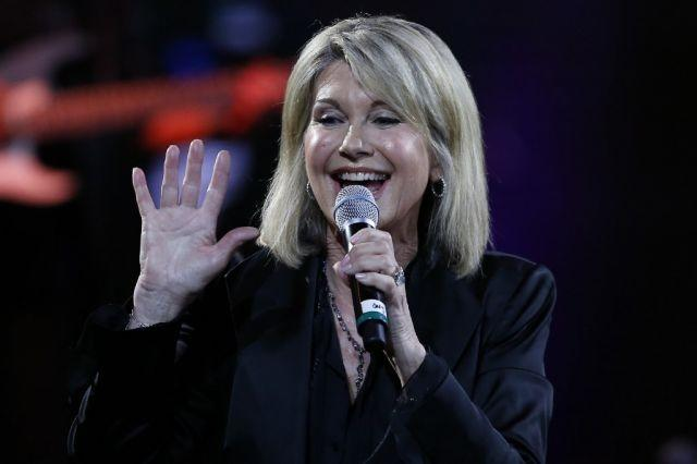 Olivia Newton-John becomes a dame in UK honours list